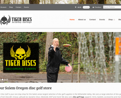 Tiger Disc Golf Shop