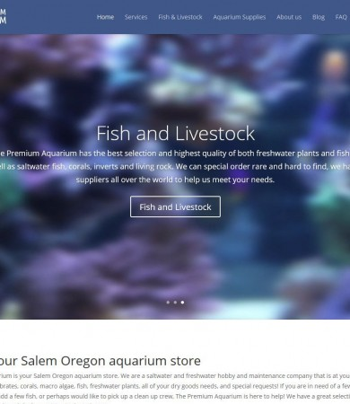 The Premium Aquarium Website